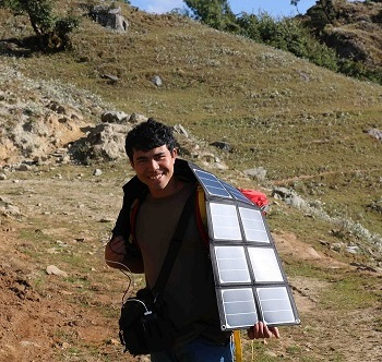 Missionary with Solar Panesl